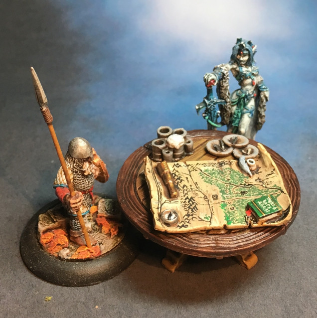 Finally, some 25mm minis for scale.