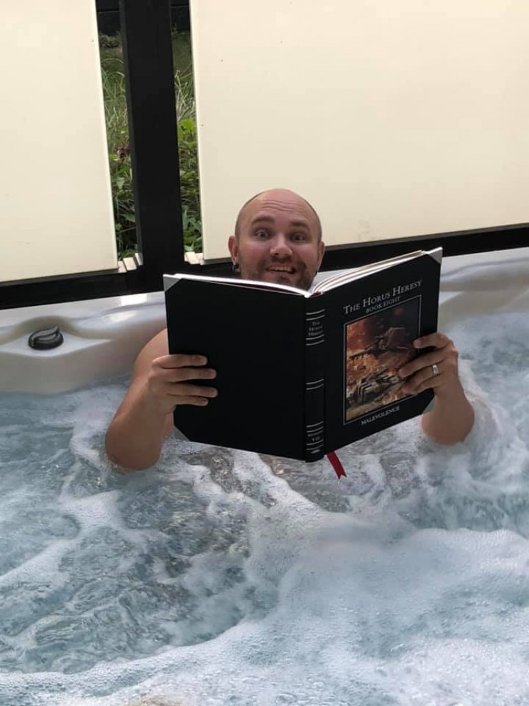 £80 book in a jacuzzi madness 😂