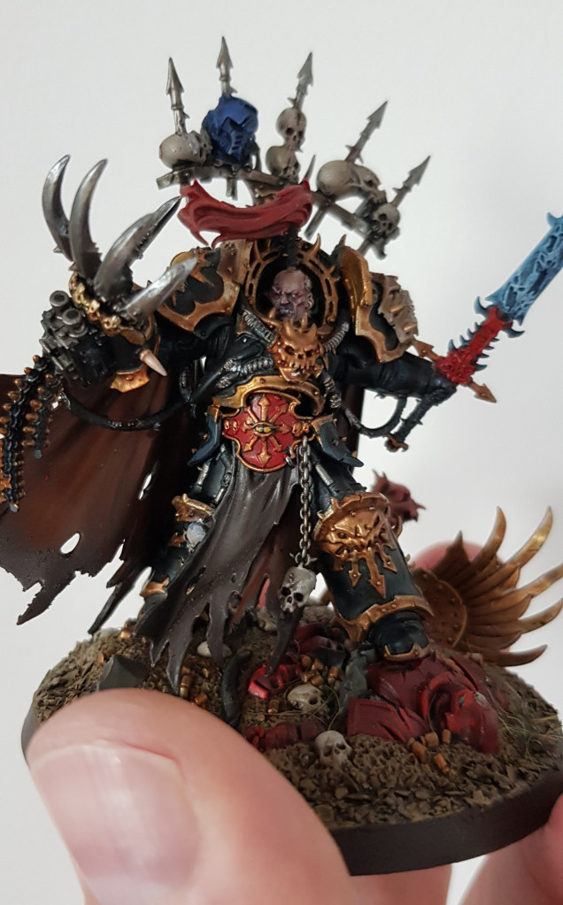 Abaddon - Not really a Primarch....