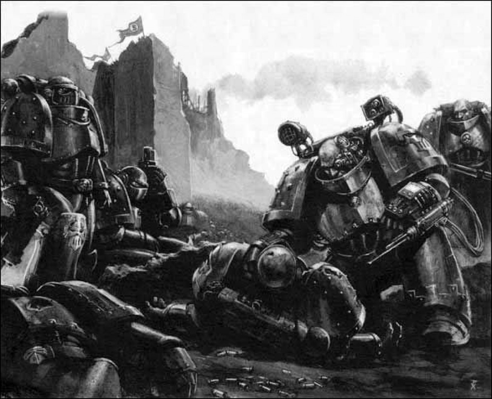 40K Iron Warriors by Mage updated 18/08