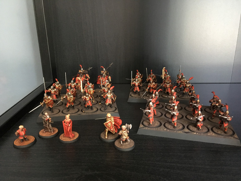 The completed forces of the Lannister host!