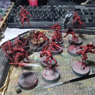 Works in Progress – Painting Shots  - Starting Everything