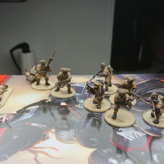 Infantry progress,,, well they are done