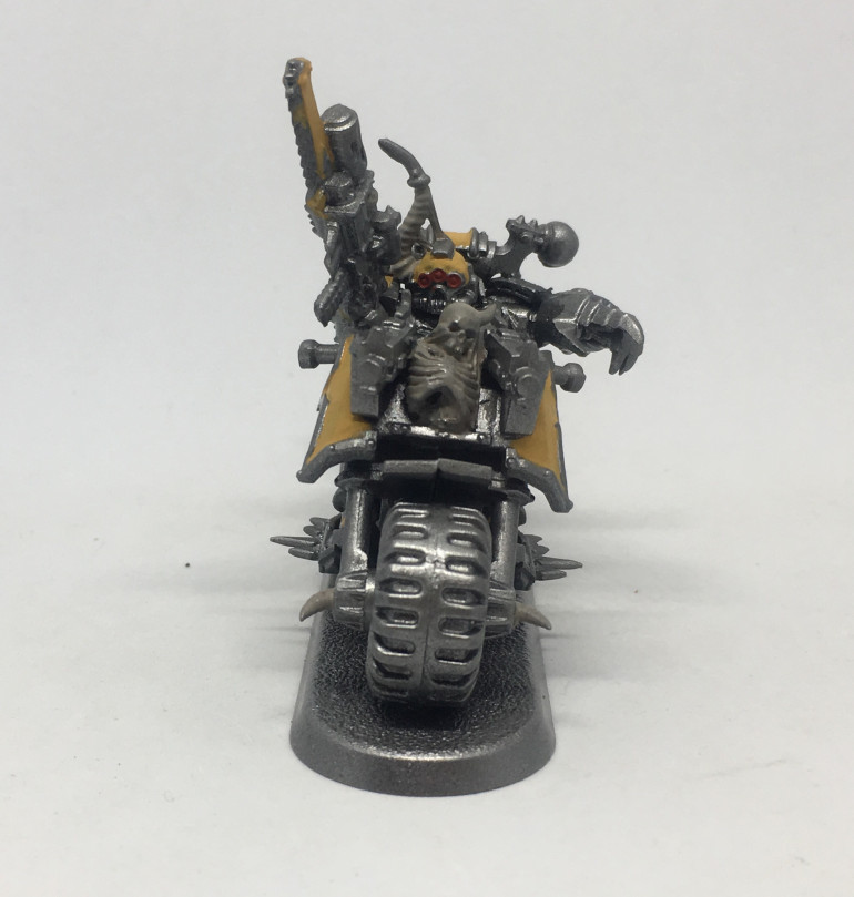 Entry 4: Work in Progress Bikes and Chaos Lord on Bike