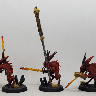 Works in Progress – Painting Shots Part 2 – Bloodletters