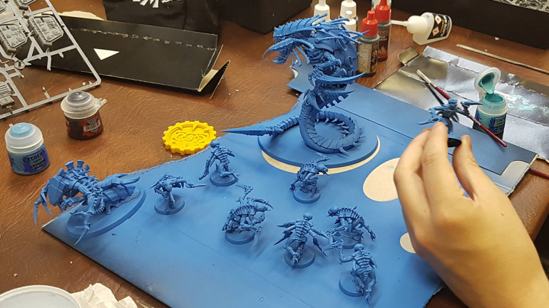 Ooooh Blue Nids - Can't wait to see where this goes!