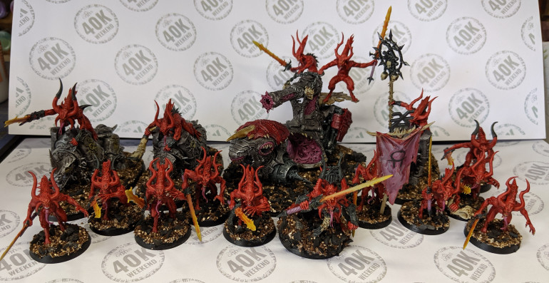 Start Collecting Khorne DONE!