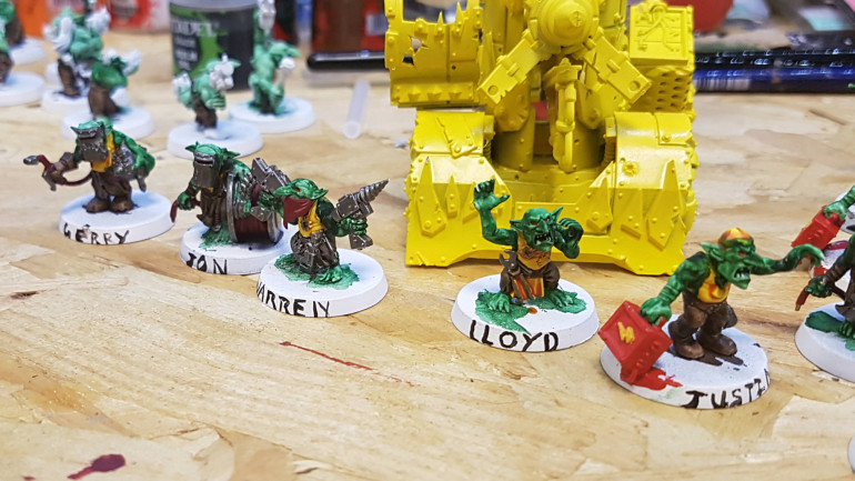 Dave's Rocking His New Orks