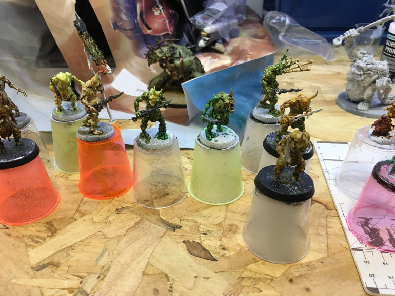 Nurglings - All the colours of the rainbow