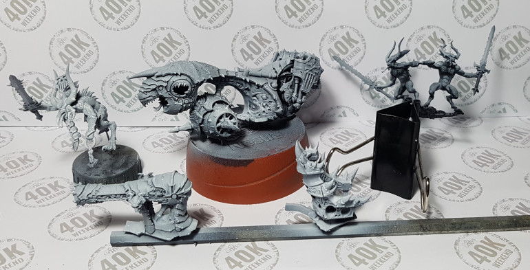 Blood Throne / Skull Cannon in parts
