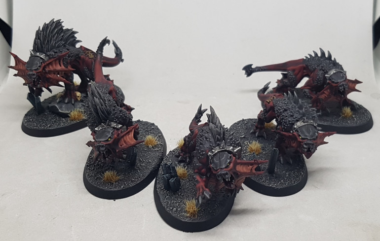 Here are 5 Flesh Hounds
