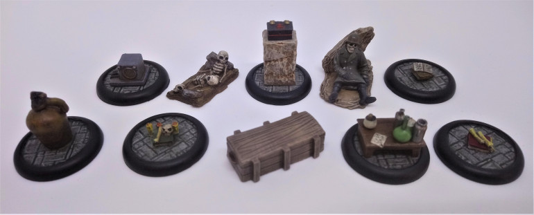 Clue Markers