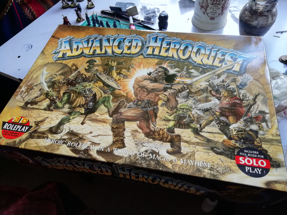 Oldhammer Adventures