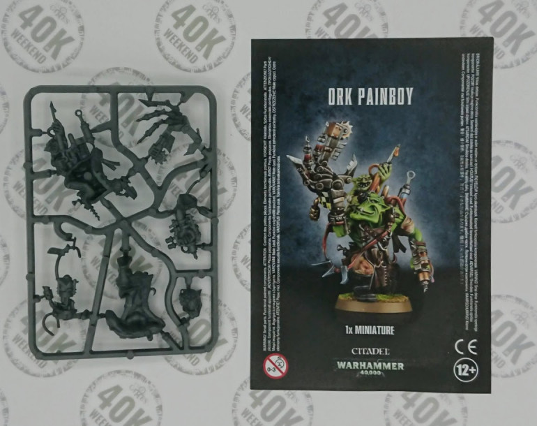 First thing out of the box : the painboy