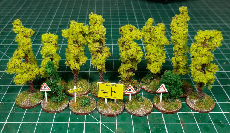 Objective markers...