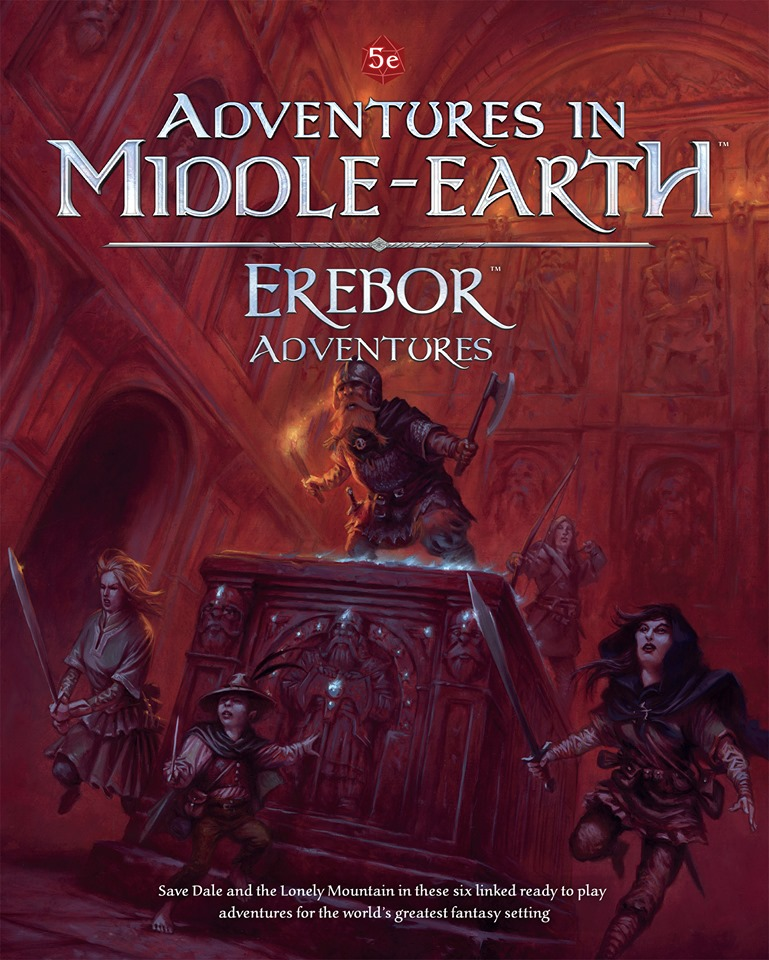 Adventures In Middle-earth Erebor Adventures - Cubicle 7