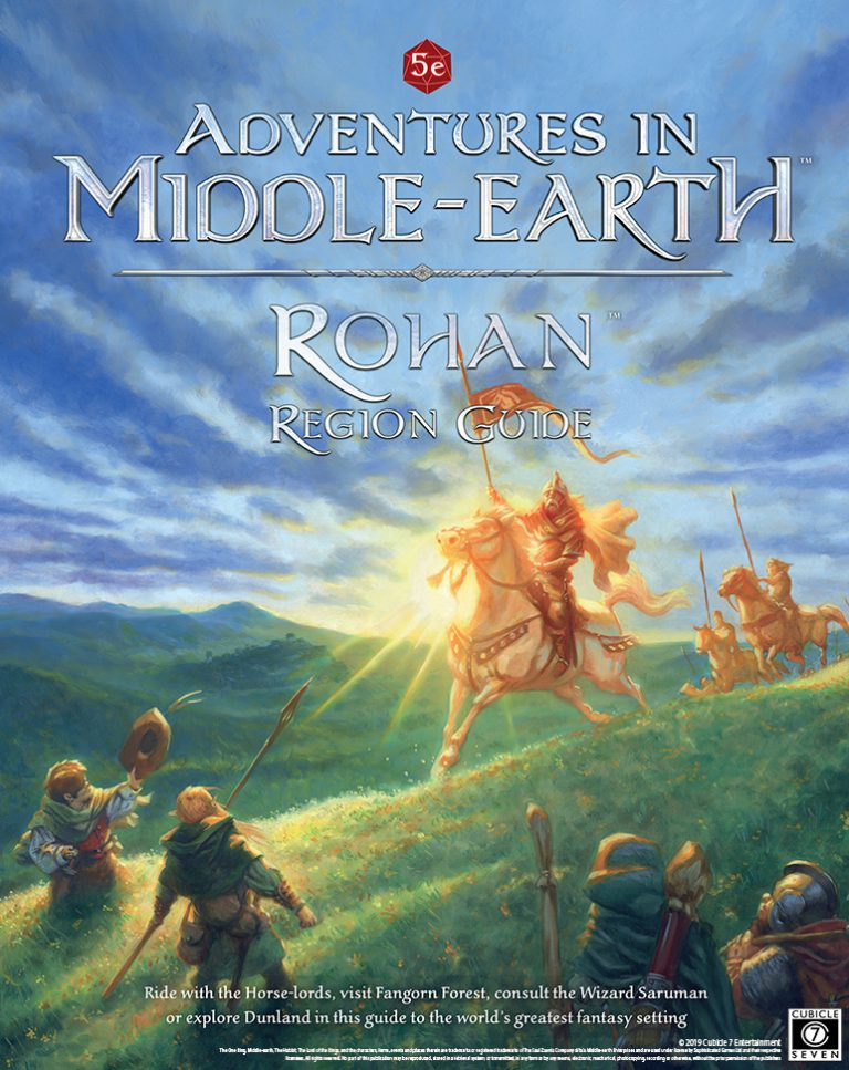 Adventures In Middle-earth Rohan Region Guide - Cubicle 7