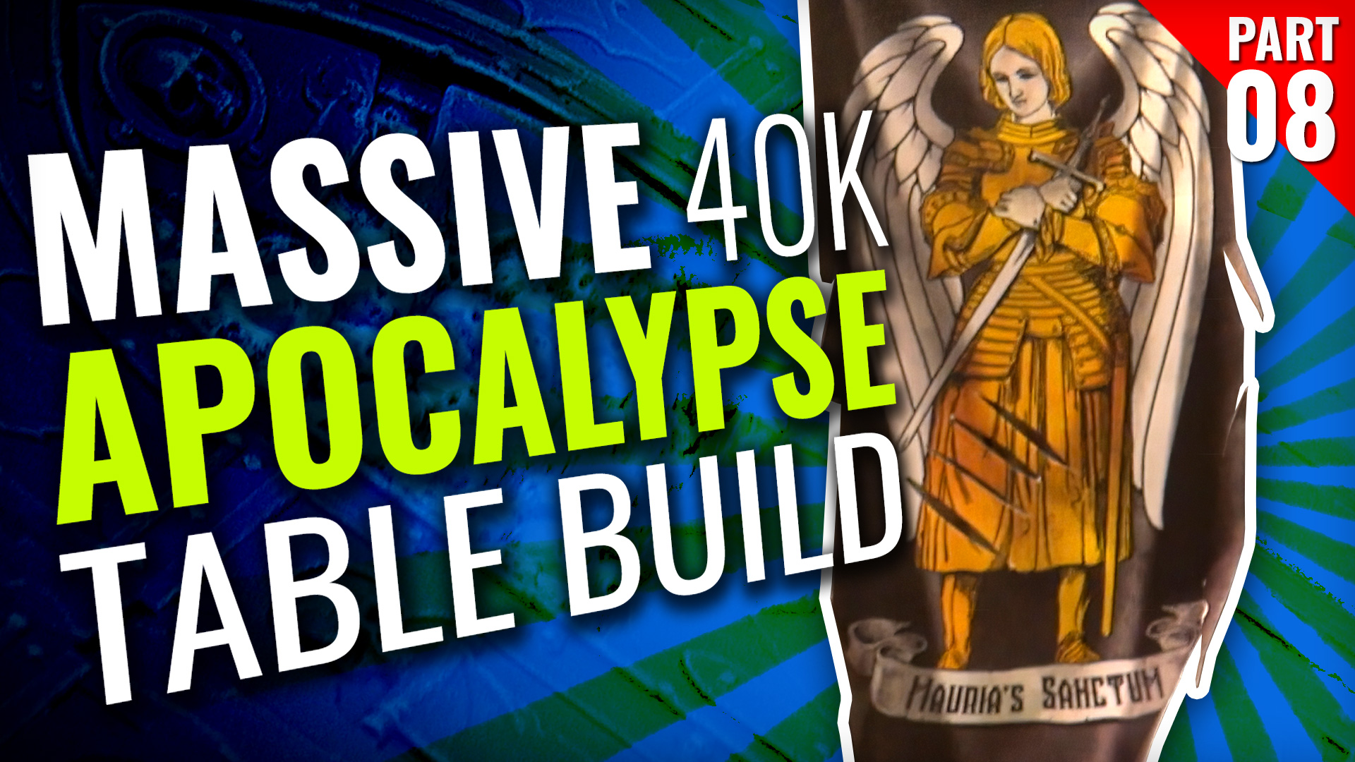 Massive 40K Apocalypse Gaming Table Build [Part Eight