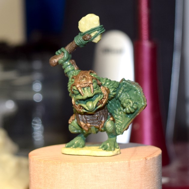 Armoured Toad - Oathsworn Miniatures