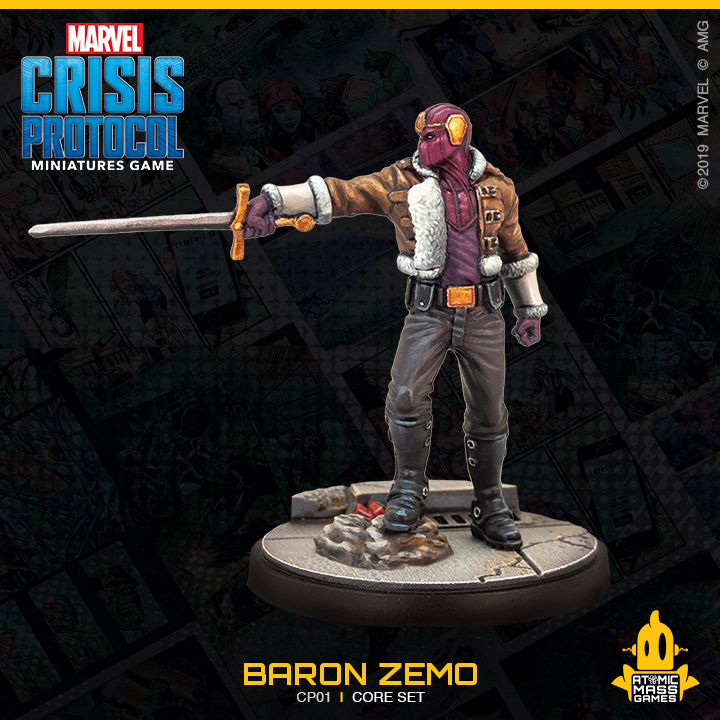 Baron Zemo - Atomic Mass Games