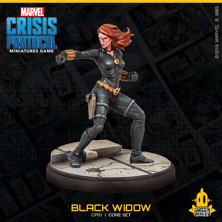 Black Widow - Atomic Mass Games