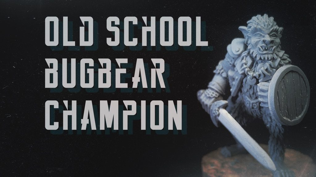 Bugbear Champion - Andrew May