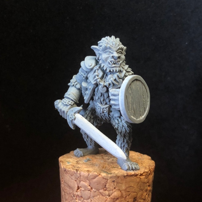Bugbear Champion Miniature - Andrew May
