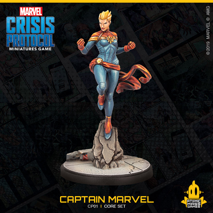 Captain Marvel Photo - Atomic Mass Games