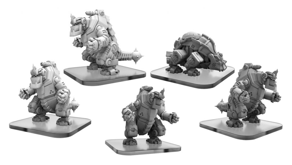 Carnitrons & Robo Brontox - Privateer Press