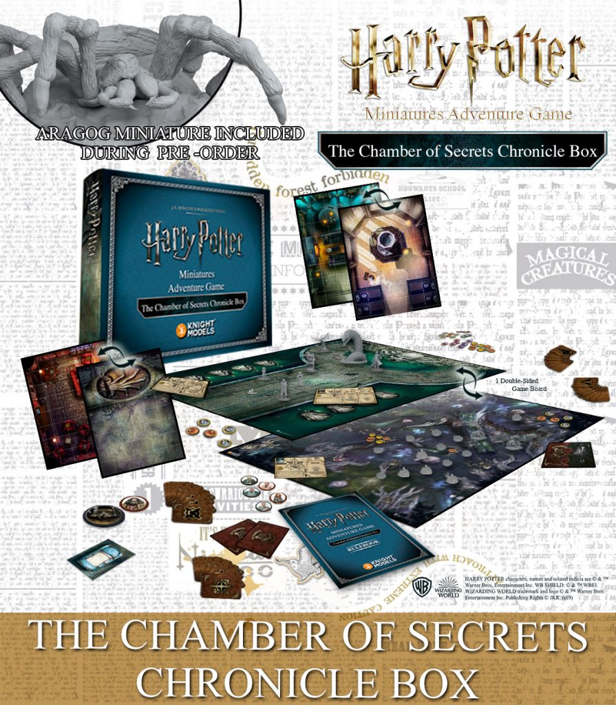Chamber Of Secrets Chronicle Box - Knight Models
