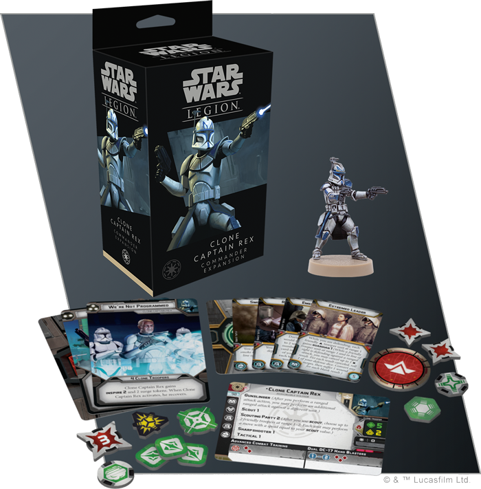 Clone Captain Rex - Fantasy Flight Games