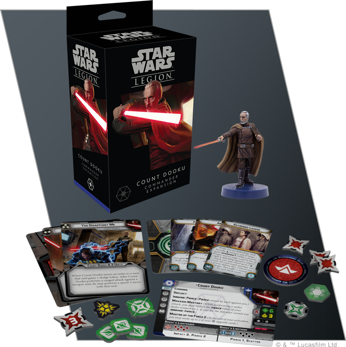 Count Dooku - Fantasy Flight Games