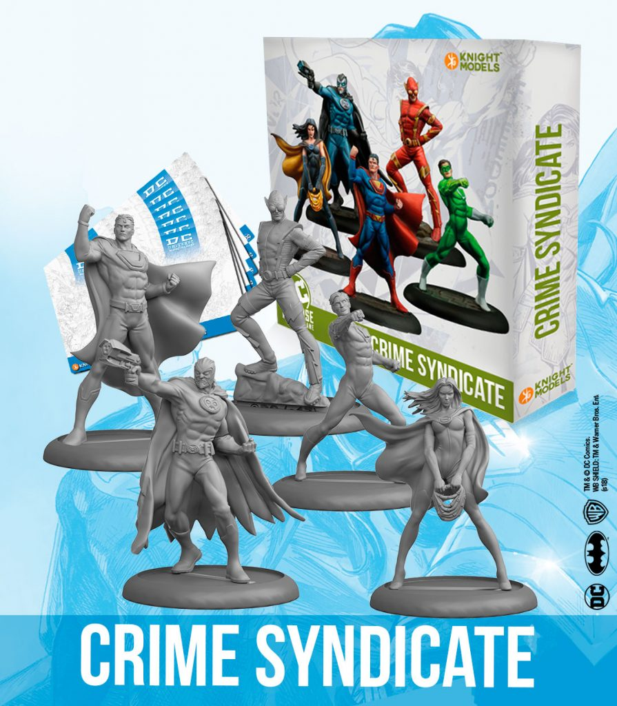 Crime Syndicate - Knight Models