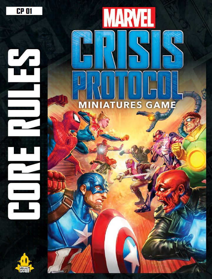 Crisis Protocol Main Cover - Atomic Mass Games