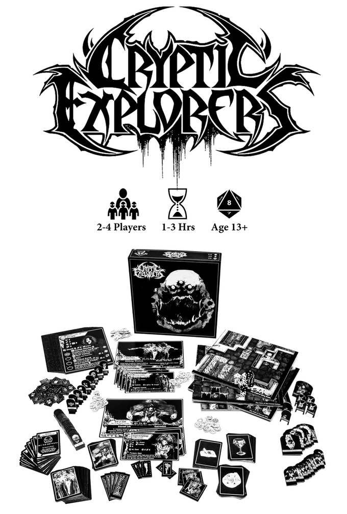 Cryptic Explorer - Tempest Tome Games