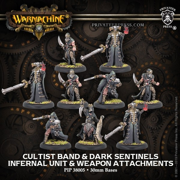 Cultist Band & Dark Sentinels - Privateer Press