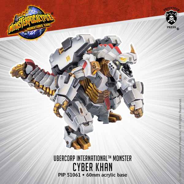 Cyber Khan - Privateer Press