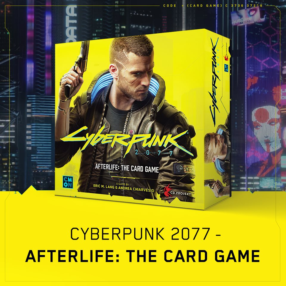 Cyberpunk 2077 - Afterlife The Card Game - CMON