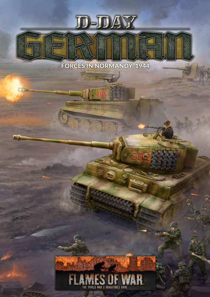 D-Day German Book - Flames Of War