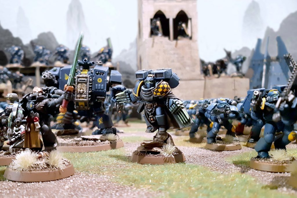 Death Strike Space Marines #1 dogma2097