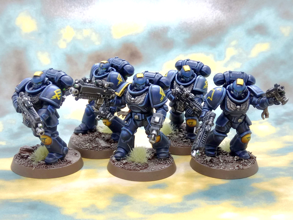 Death Strike Space Marines #4 dogma2097