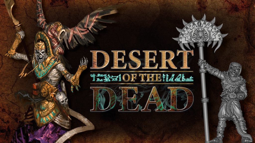 Desert Of The Dead - TTCombat