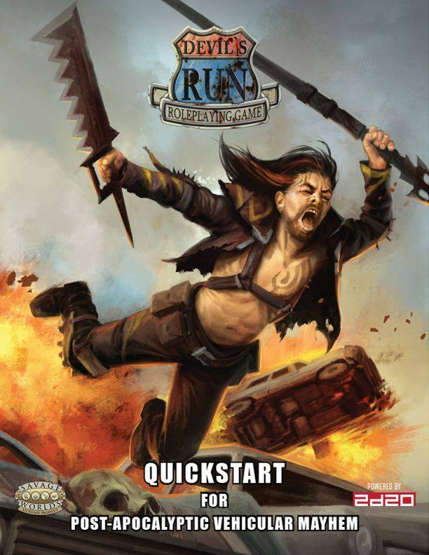 Devils Run Quickstarter - Modiphius
