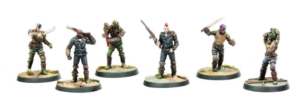 Fallout Raiders Scavvers & Psychos - Modiphius