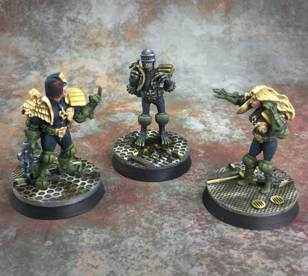 Foundry Dredd Miniatures #1 by januinevision