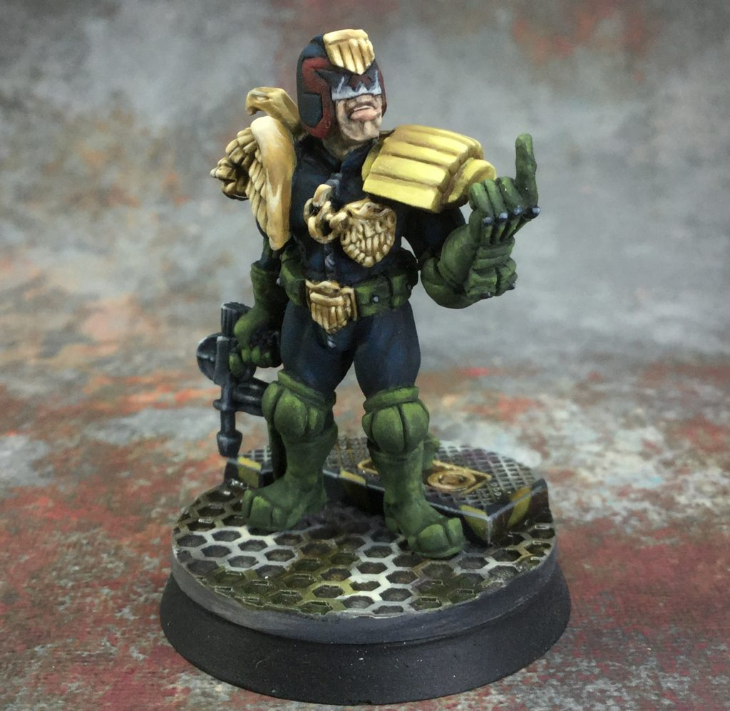 Foundry Dredd Miniatures #2 by januinevision