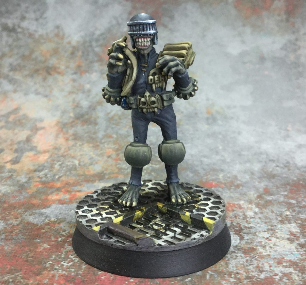 Foundry Dredd Miniatures #3 by januinevision