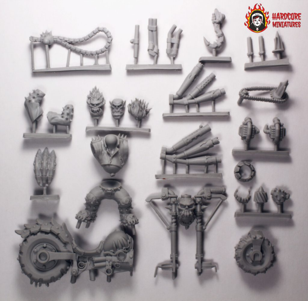 Ghost Orc Components - Hardcore Miniatures
