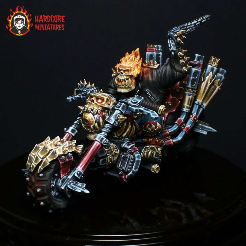 Ghost Orc Rider - Hardcore Miniatures