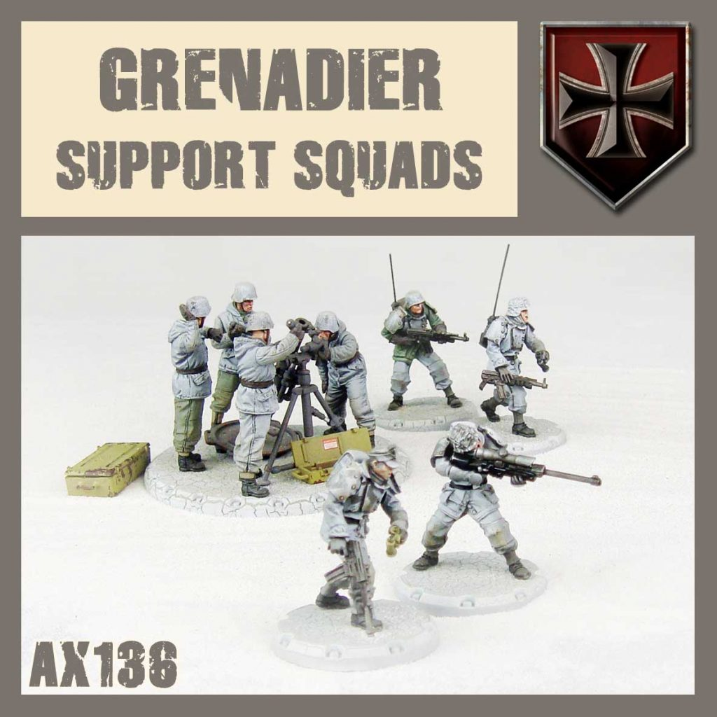 Grenadier Support Squad - DUST